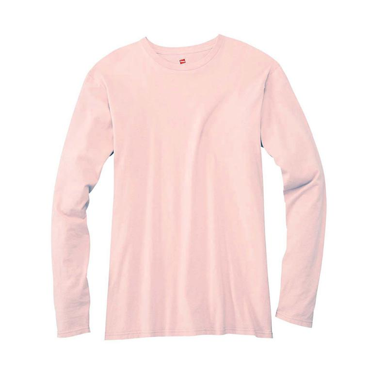 Pink Long Sleeve T Shirt | Is Shirt